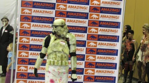 Zombie Storm Trooper at the pageant