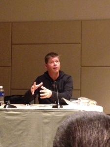 Rob Liefeld explains how he broke into the comic industry.
