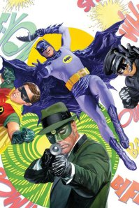 The beautiful Alex Ross cover to Batman meets Green Hornet mini series that Ralph worked on.