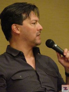 David Hayter, voice of Solid Snake, from Saboten Con 2015
